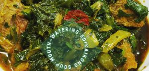 Super Duper Leafy Edikaikong Soup
